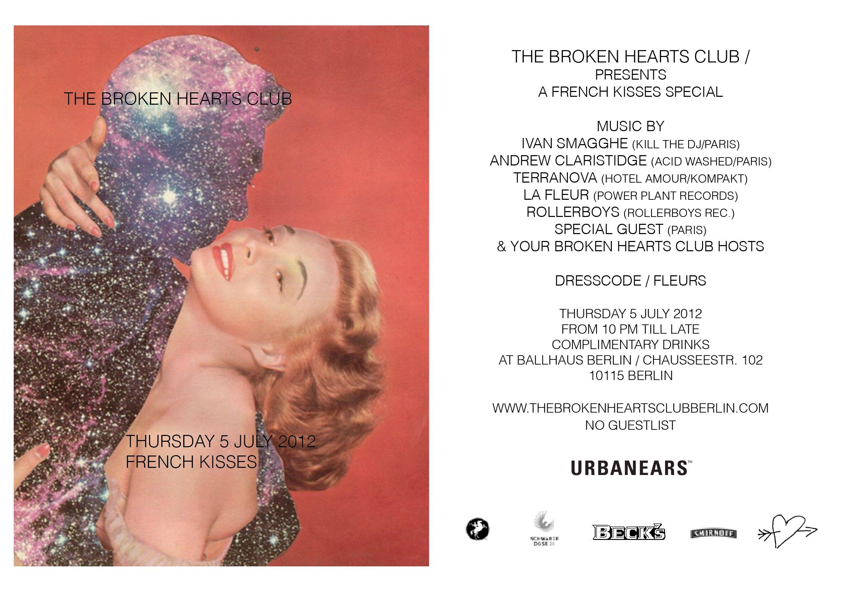 Flyer Broken Hearts Club 2012