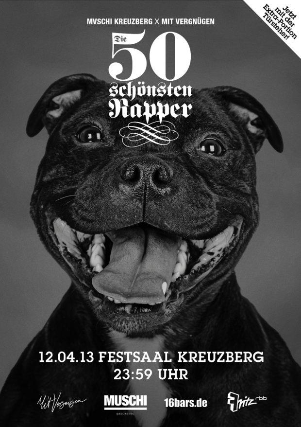 freitag die 50 sch nsten rapper festsaal kreuzberg mit vergn gen berlin. Black Bedroom Furniture Sets. Home Design Ideas