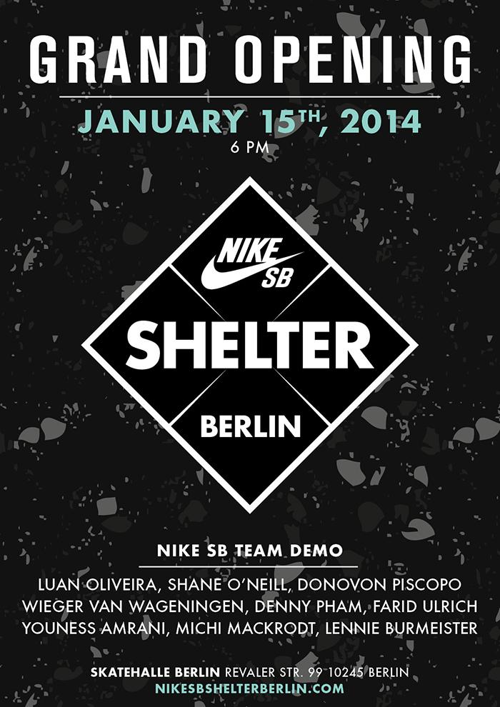 Nike SB Shelter Grand Opening