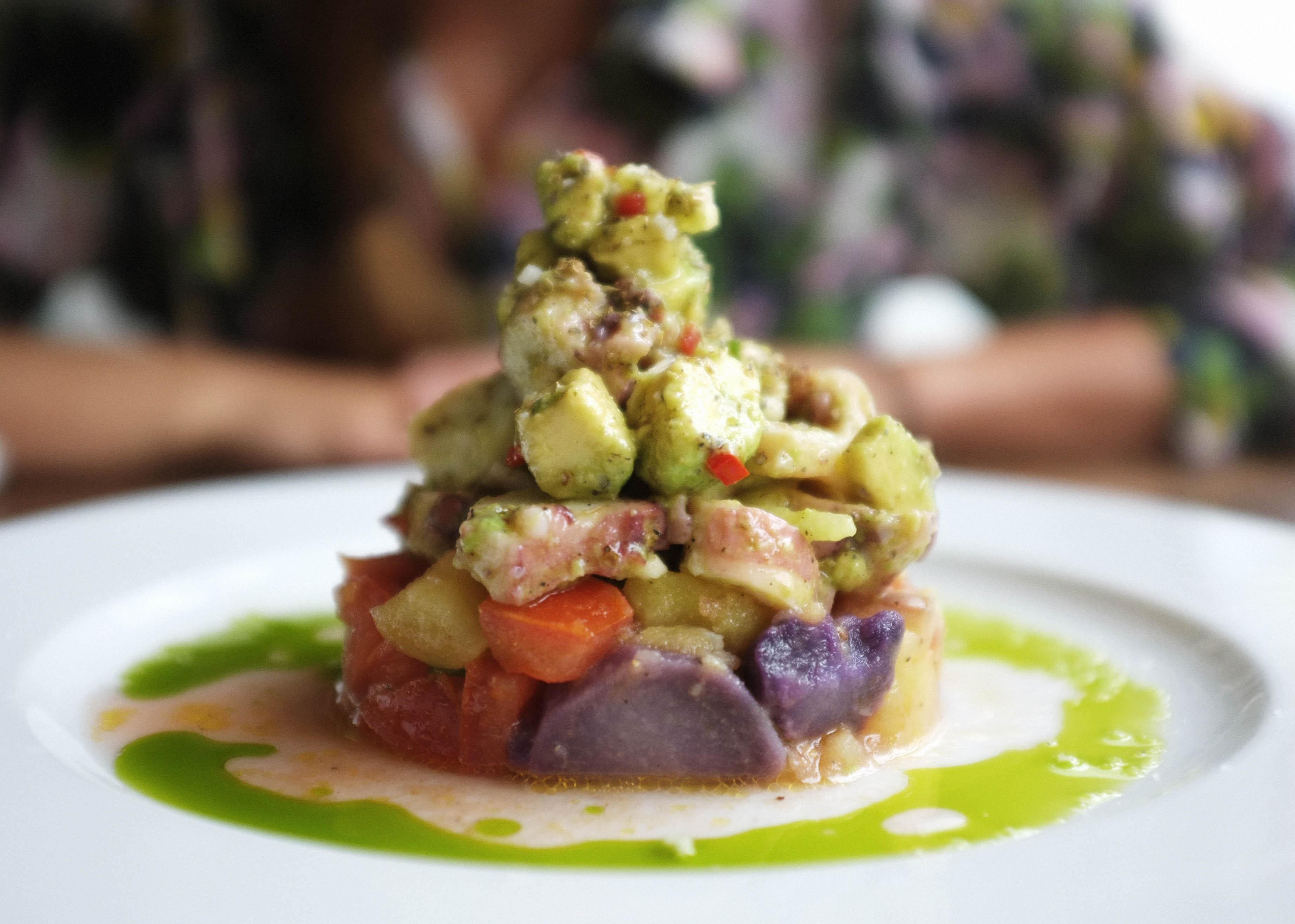 Cevicheria – Kartoffelsalat Ceviche