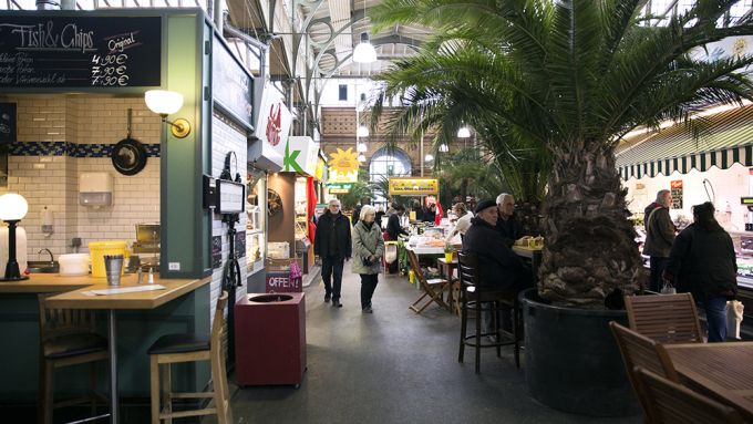 Markthalle Moabit, 40 Days of Eating, Essen