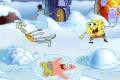 spongebob, schnee