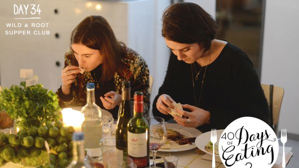 Wild & Root Supper Club, 40 Days, Tabea Mathern