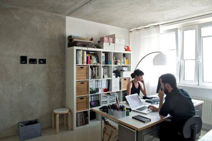 Sodass Der Platz Optimal Genutzt Werden Kann Die Kchenmbel Hat Architekt Noel Selbst Entworfen Gesamte Einrichtung Ist Klar Und