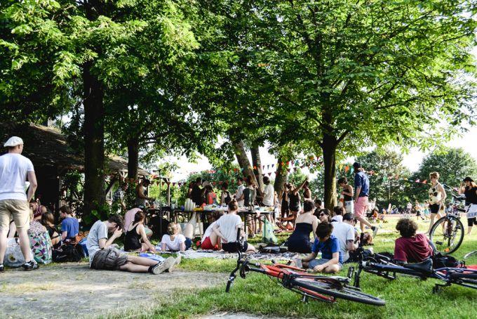 Picknick in berlin