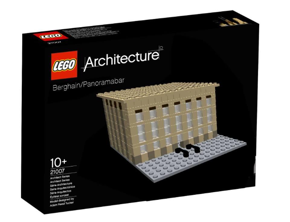 Ganz Sch 246 N Schwer Reinzukommen Das Berghain Aus Lego
