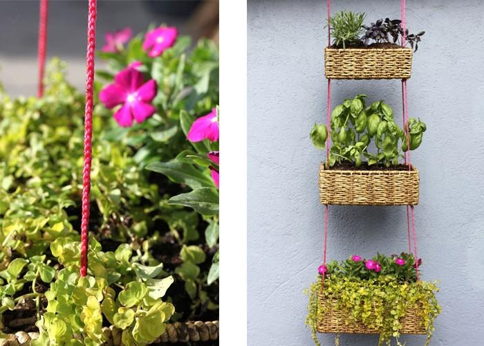 DIY Pflanzenkörbe
