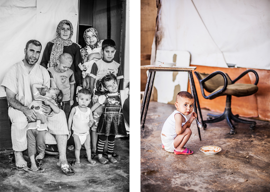 Refugee Libanon Familie