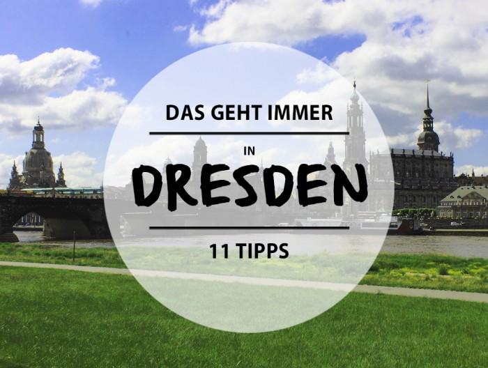 Tipps Dresden
