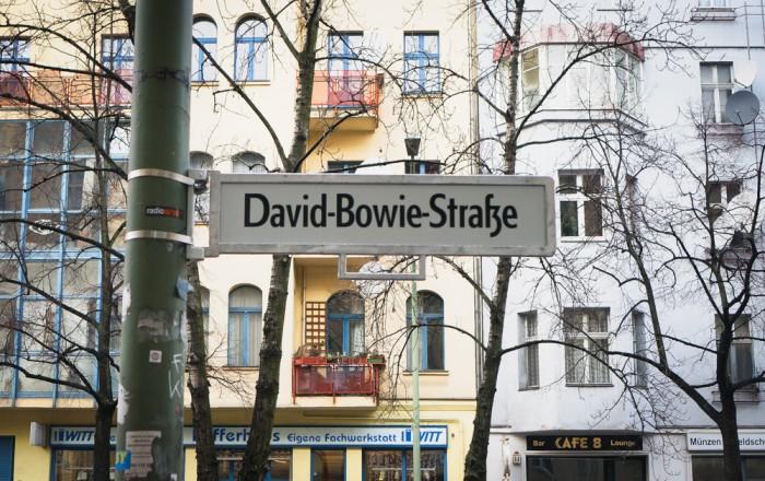 David Bowie Straße