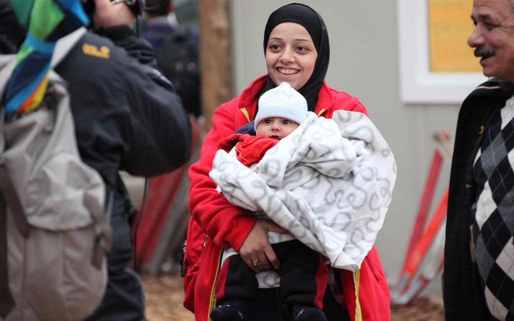 Moabit Flüchtlinge
