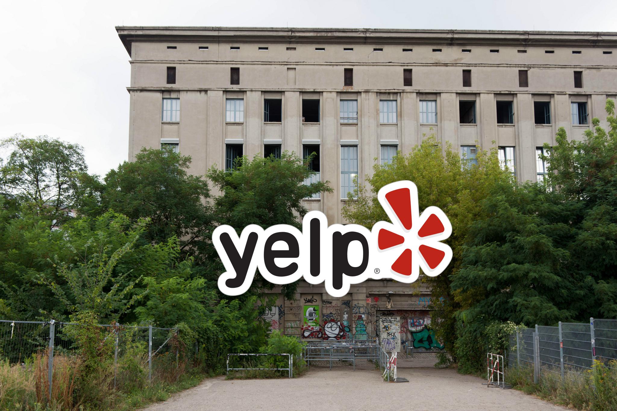 Die lustigste Yelp-Bewertung für das Berghain, ever