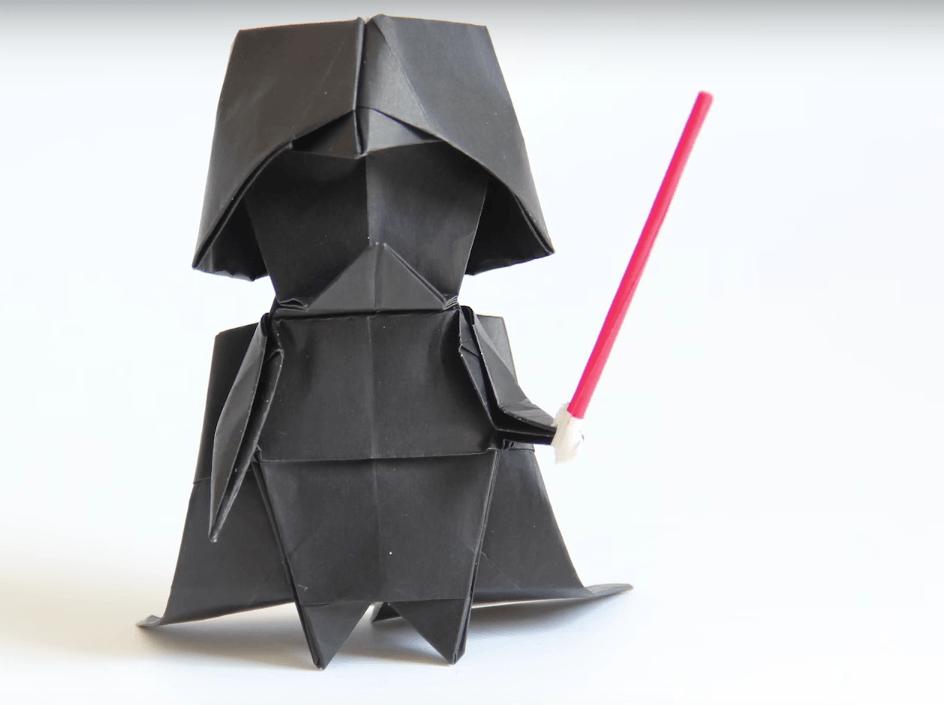 So faltet ihr einen kleinen Darth Vader. Vielleicht. | Mit ... - photo#23