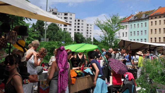 breitenbachplatz flohmarkt