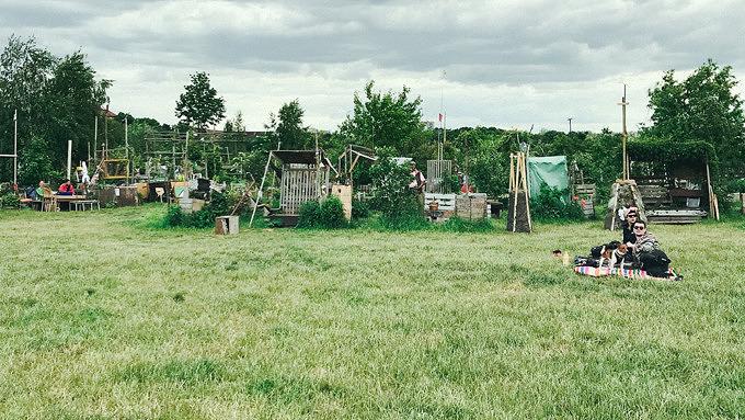 Allmende Kontor, urban Gardening, Tempelhofer Feld