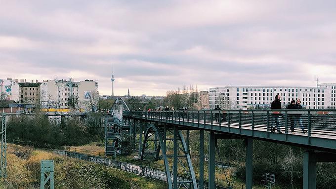 Behmbrücke, Schwedter Steg