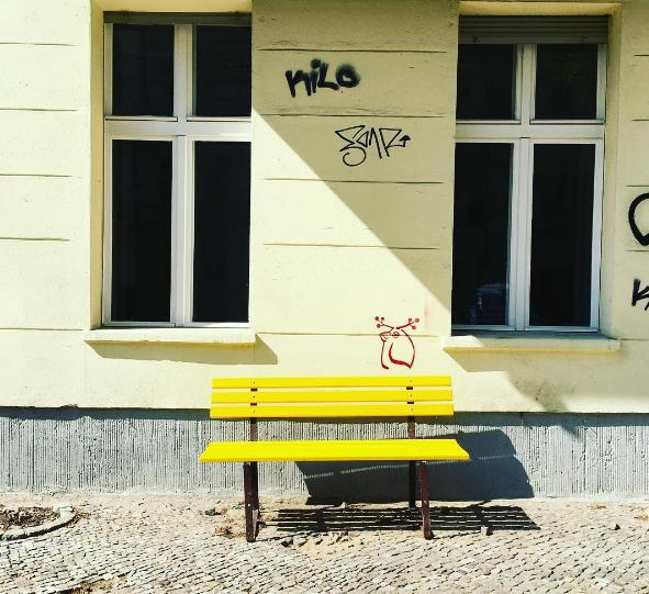 Die gelbe Bank