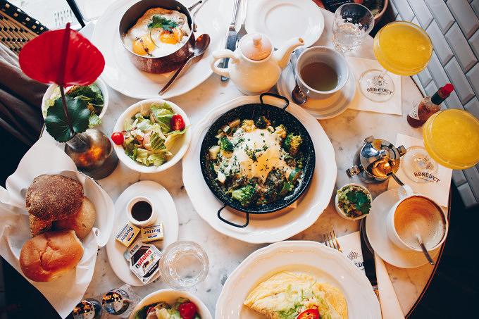 Den ganzen Tag frühstücken im Benedict Berlin
