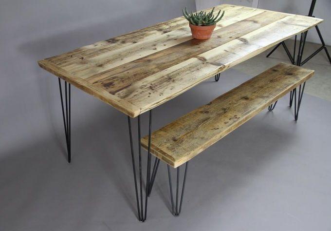 Möbel aus recyceltem holz  Design-Möbel aus recyceltem Holz – Kentholz aus Berlin | Mit ...