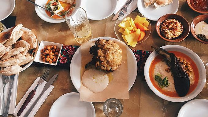 Yafo, Israelisch essen, Mitte