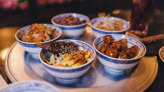 essen tapas asiatisch bowls