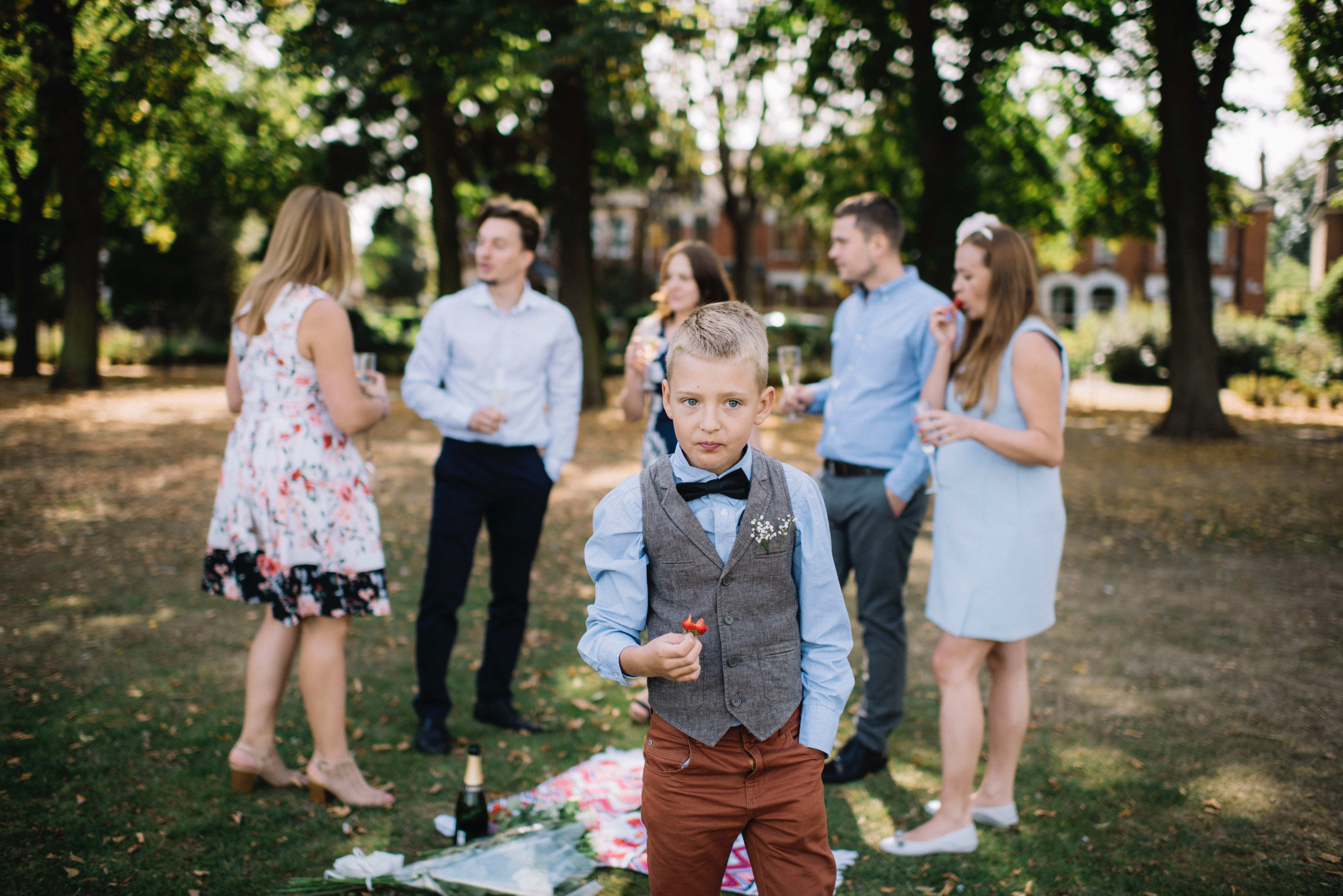 Lasst eure Kinder bei der nächsten Hochzeit gefälligst zu Hause ...