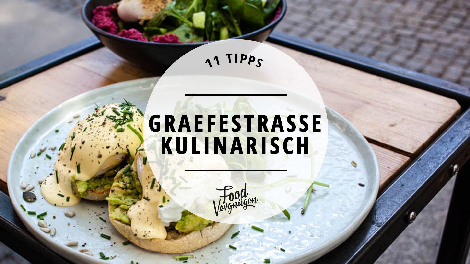 11 Cafés und Restaurants auf der Graefestraße, die ihr ausprobieren ...