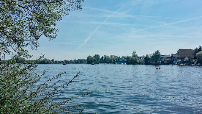 Seddinsee in Berlin