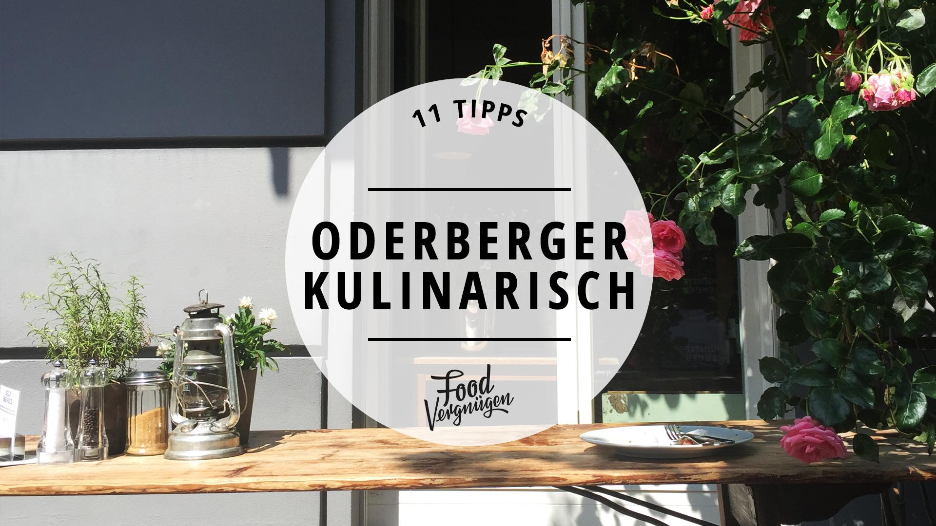 11 Cafés, Restaurants und Bars in der Oderberger Straße, die ihr kennen solltet