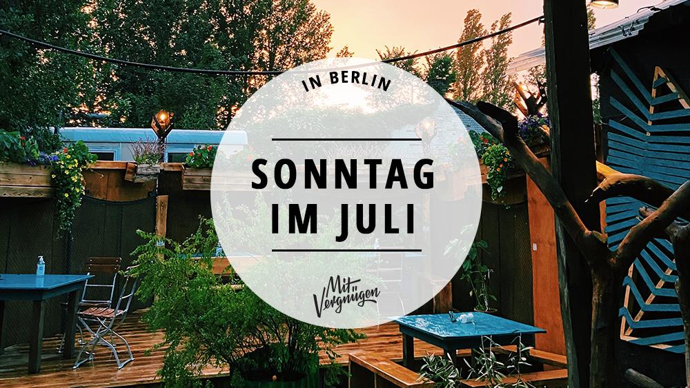 Sonntag im Juli, Rummels Bucht, Berlin