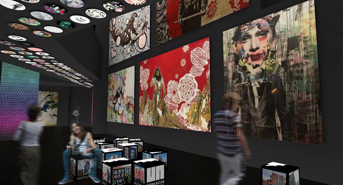 urban nation zeigt die faszination der urban art mit vergn gen berlin. Black Bedroom Furniture Sets. Home Design Ideas