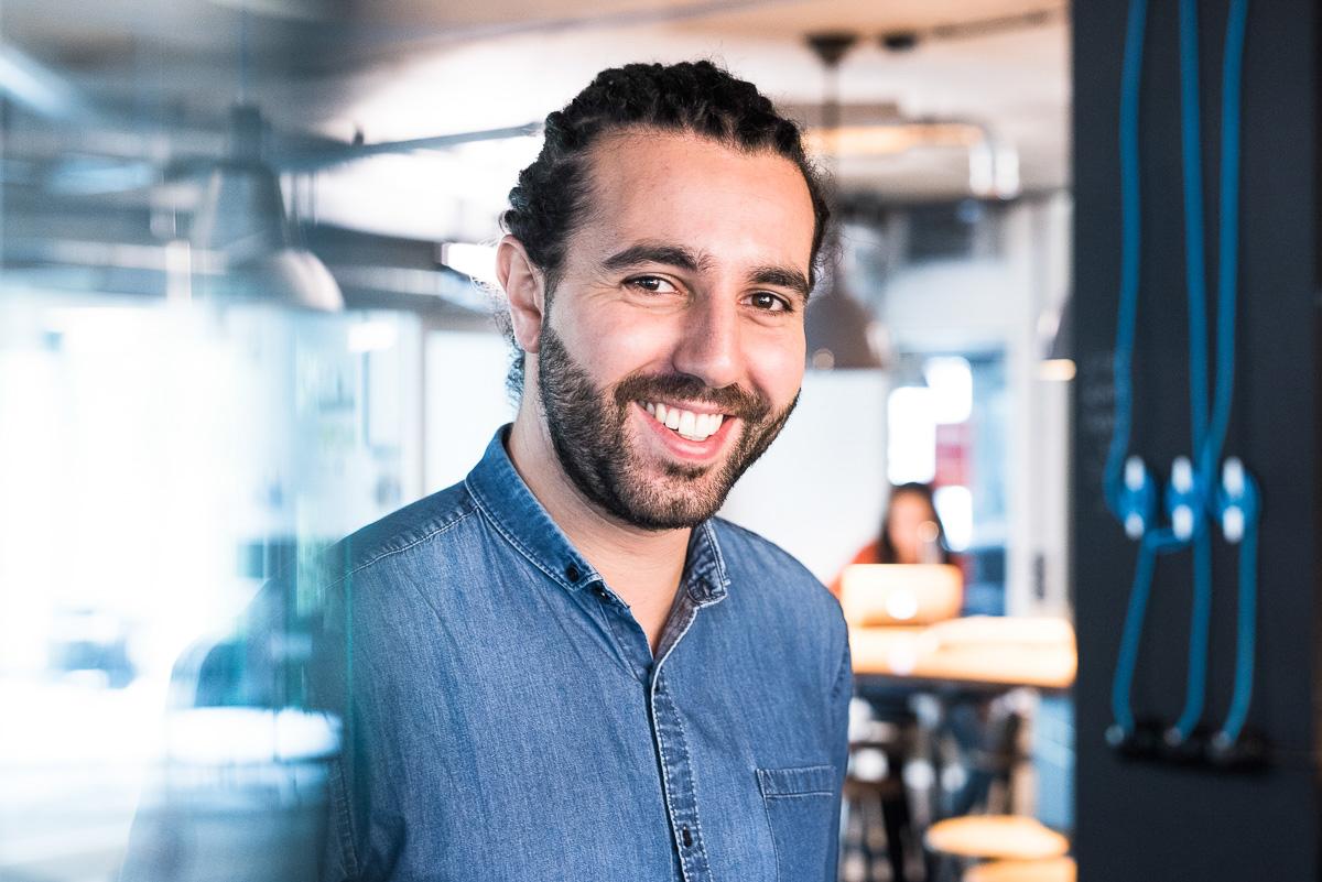 Wie führt man ein großes Unternehmen? – Tarek Müller von about you im Hotel Matze