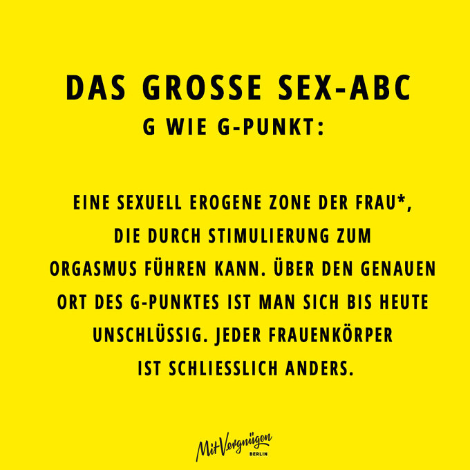 G-Punkt, SEX-ABC