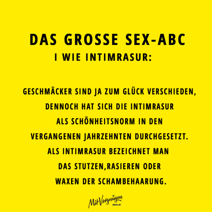 Intimrasur, SEX-ABC