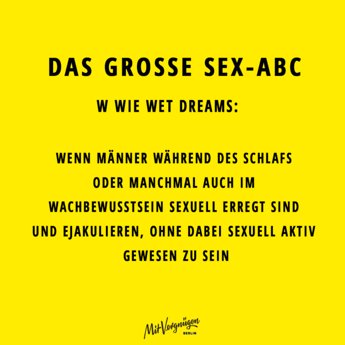 SEX-ABC. Wet Dreams