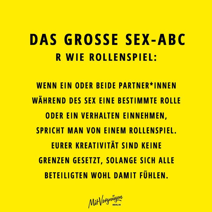 Rollenspiel, SEX-ABC