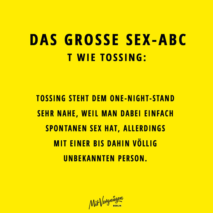 Tossing, SEX-ABC
