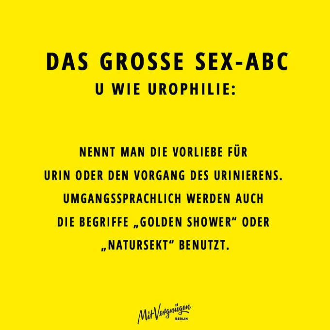 Urophilie, SEX-ABC