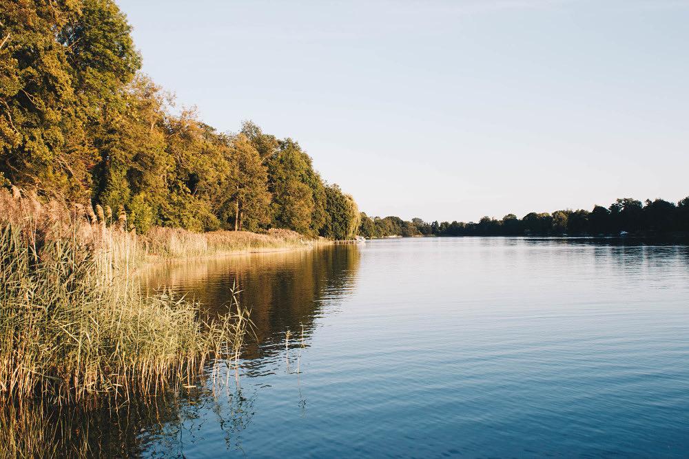 Ruppiner Seenlandschaft in Brandenburg