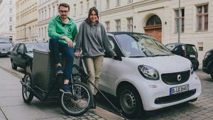 smart #morespacefor Kampagne, smart EQ fortwo