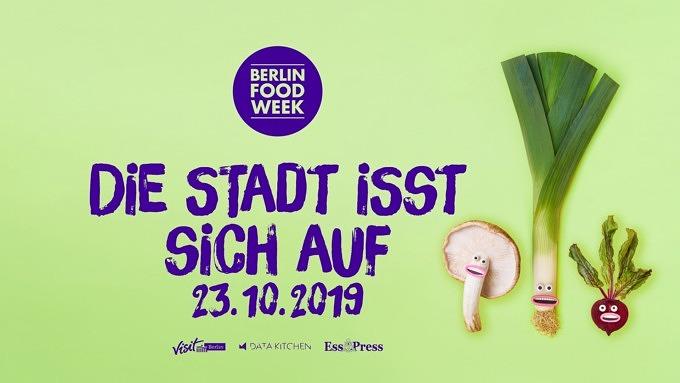 Die Stadt isst sich auf, Berlin Food Week