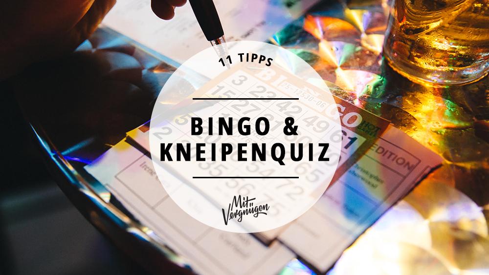 Bingo und Kneipenquizze in Berlin