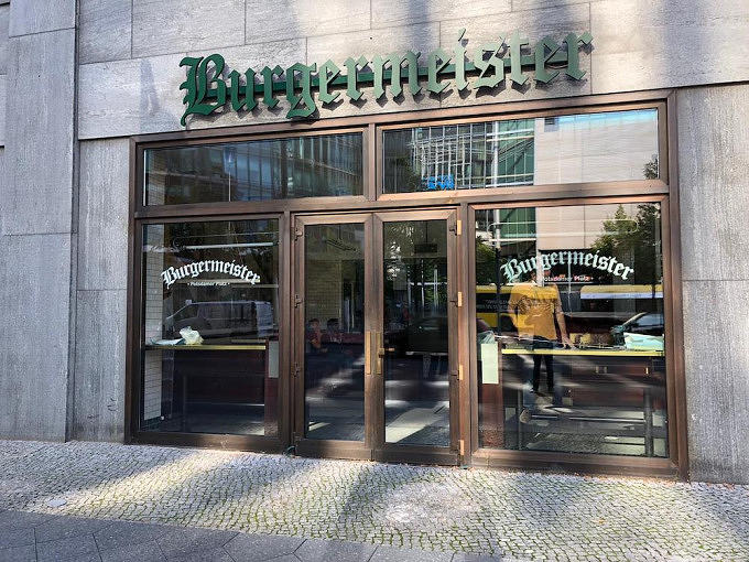Burgermeister-Filiale am Ptsdamer Platz