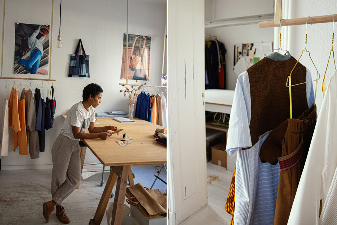 Buki Akomolafe designt Mode mit traditionellen Techniken – und das auch noch nachhaltig