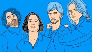 Silbermond zu Gast im Podcast Kleine Fragen von Mit Vergnügen und Spotify