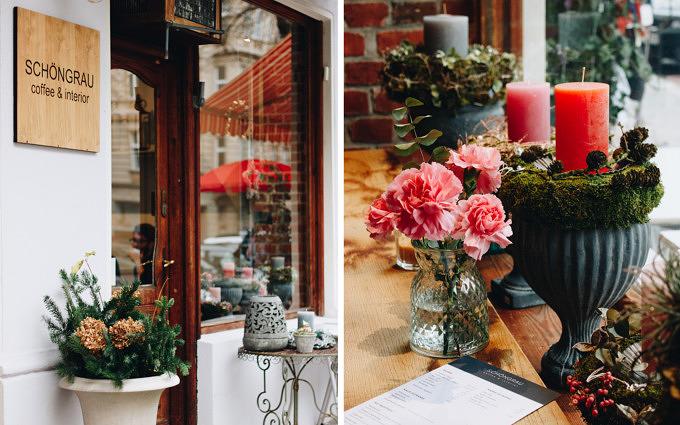 Frühstücken, Kuchen essen und Wohnaccessoires shoppen im Café Schöngrau