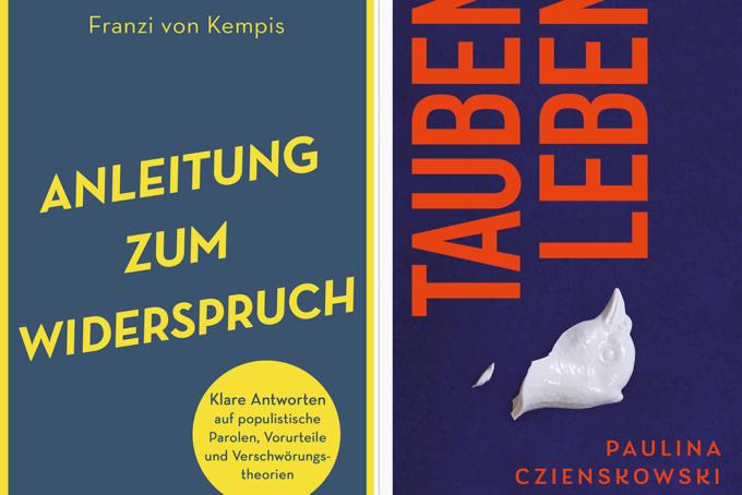 Franzi von Kempis, Anleitung zum Widerspruch | Paulina Czienskowski, Taubenleben Buchcover