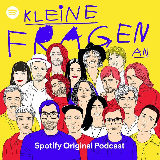Kleine Fragen Podcast von Spotify und Mit Vergnügen
