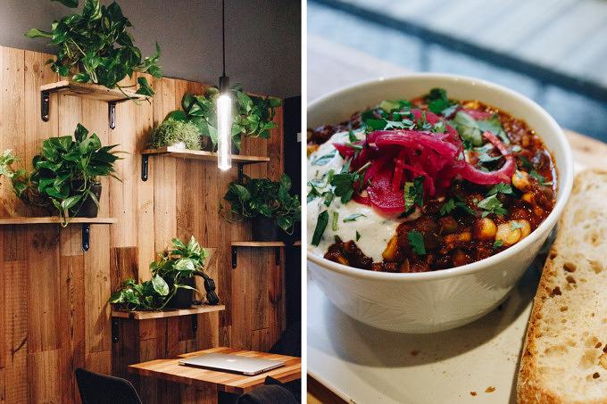 Burghain Burger und Bali Bowl: Vegan essen bei VEG'D in Friedrichshain