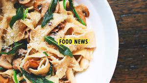 Food News Februar 3 Titelbild: Nudeln mit Salbei und Pilzen